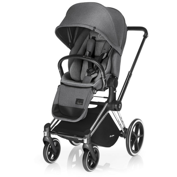 Cybex Бебешка количка Priam Lux Seat Manhattan Grey 2017